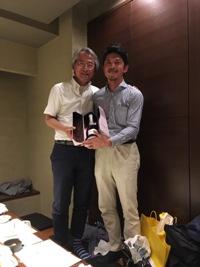 弘岡先生と自分